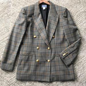 Pendleton // Vintage 100% Wool Blazer Size 12